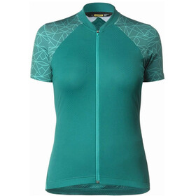 Mavic Sequence Graphic Maillot manches courtes Femme, everglade